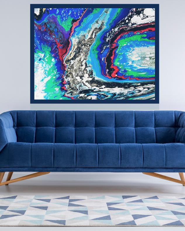 ISA artiste peintre art abstrait contemporain