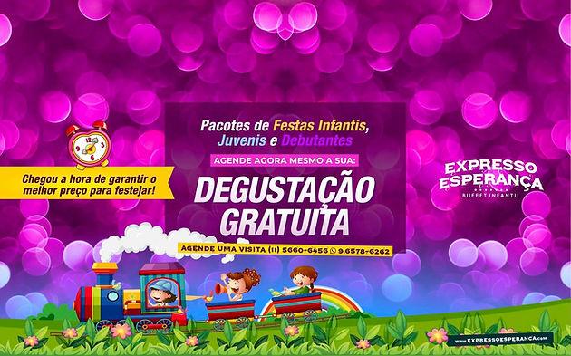 buffet infantil expresso esperança promoçao