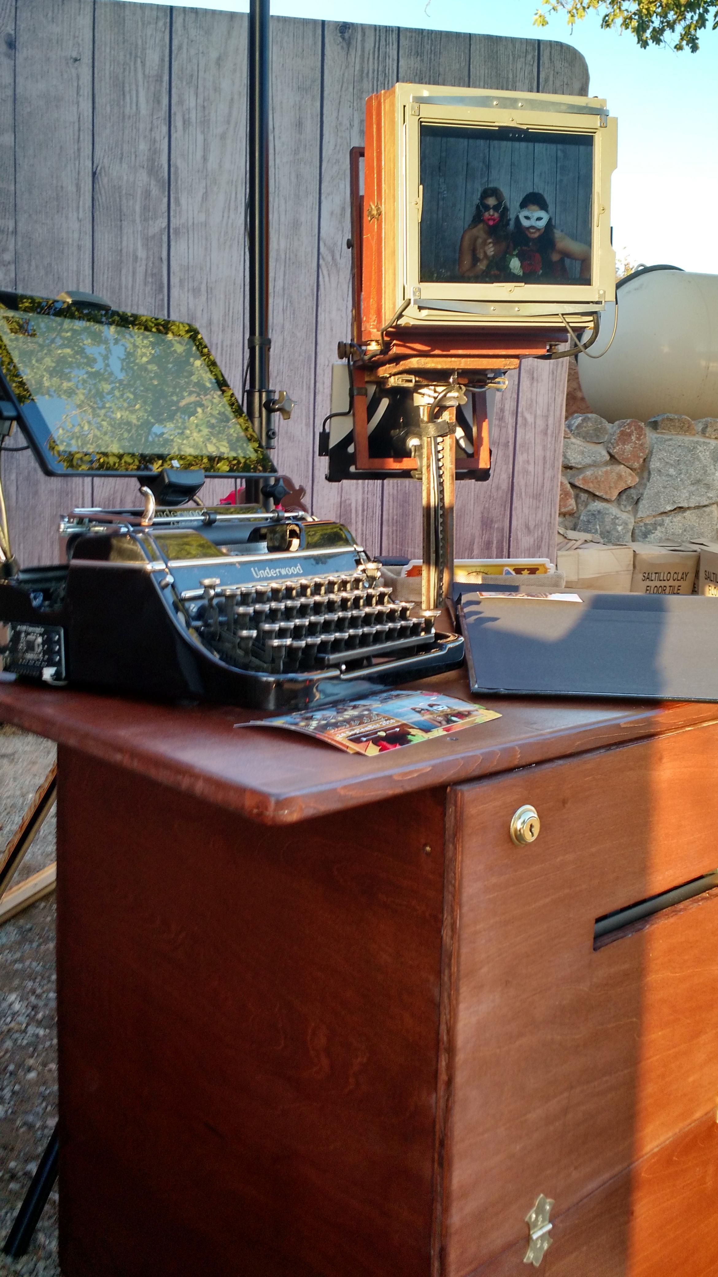 Antique Setup The Wedding Memory Pho