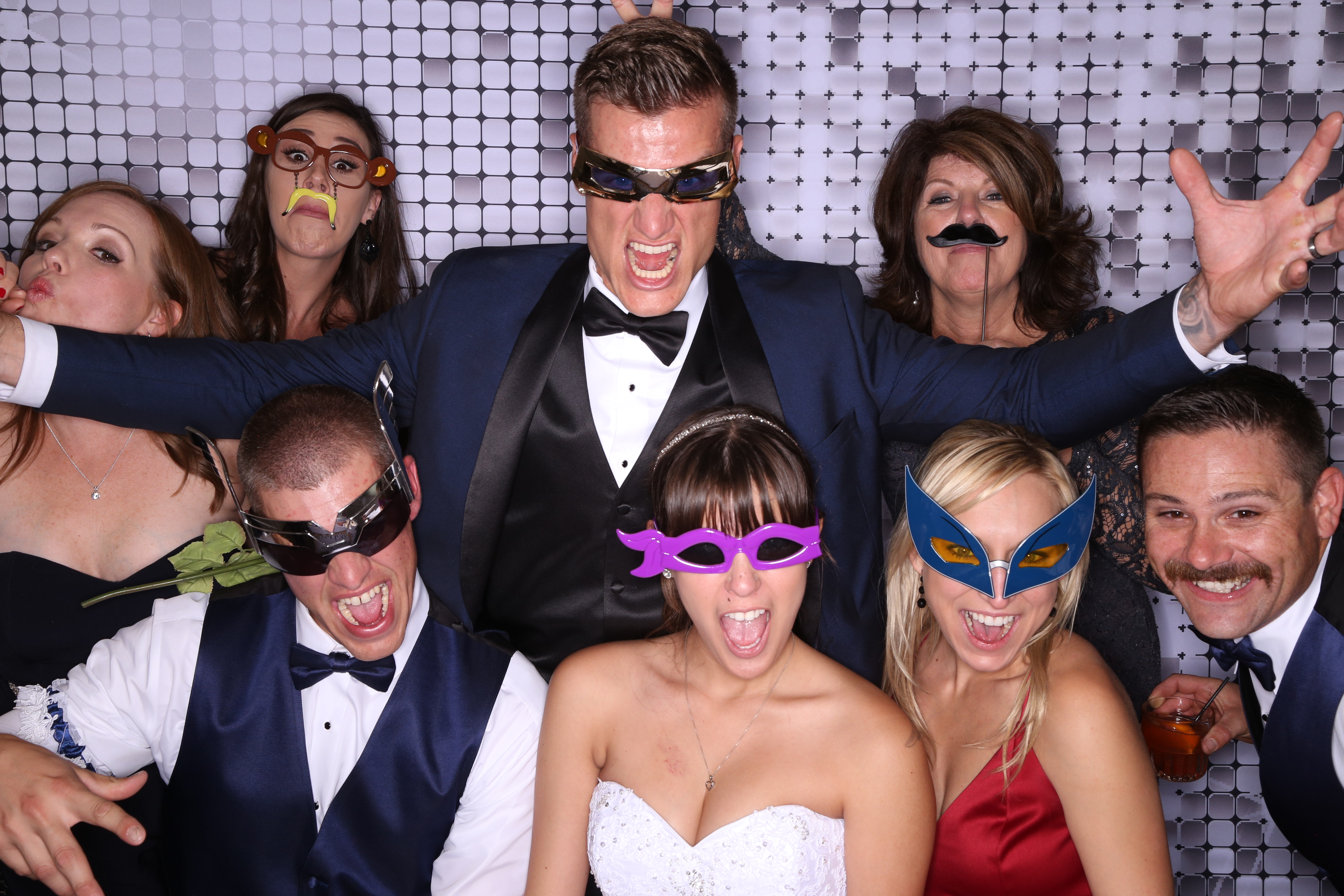 Silver The Wedding Memory Photobooth