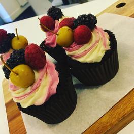 Mixed berry & baby apple cupcakes.jpg