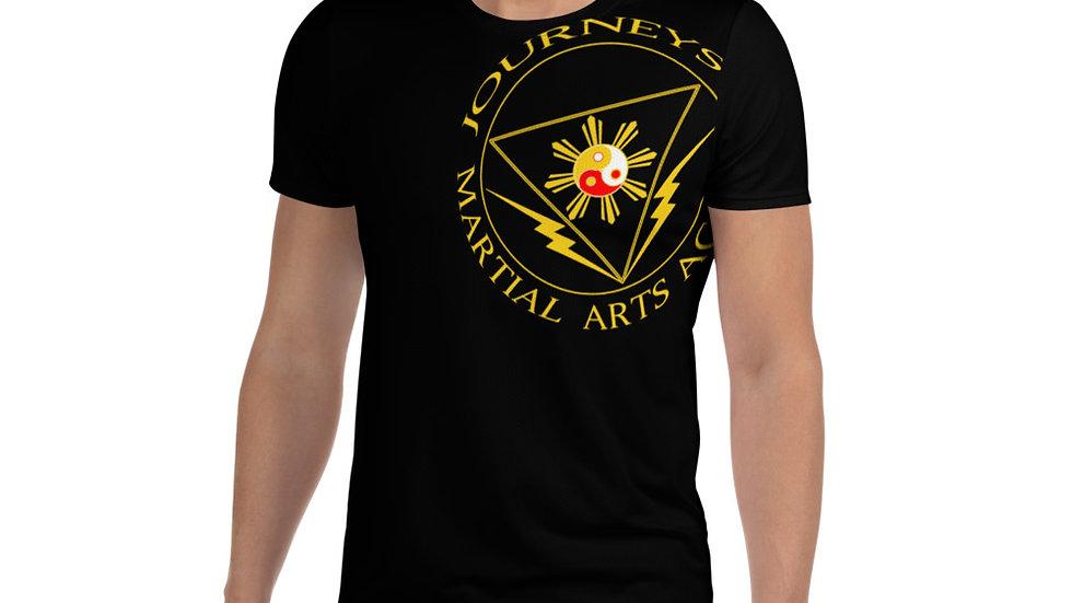 JMA Uniform All-Over Print Men's Athletic T-shirt
