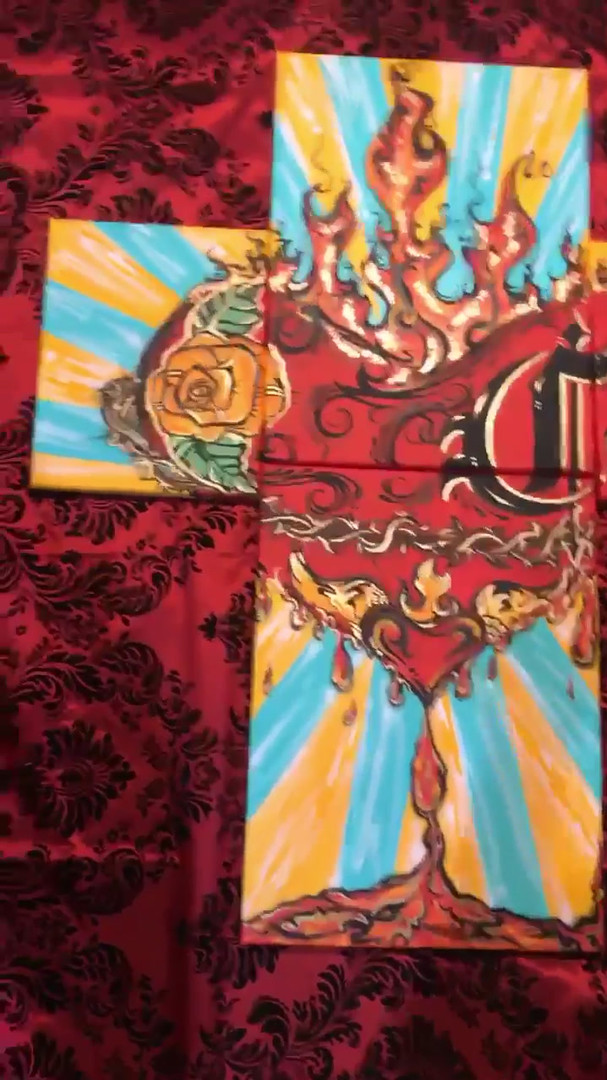 Video  Colorful Sacred Heart