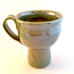 Shimmering Green Mug
