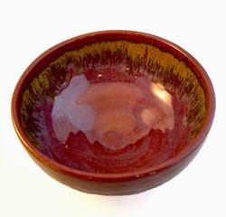 Golden Merlot Bowl