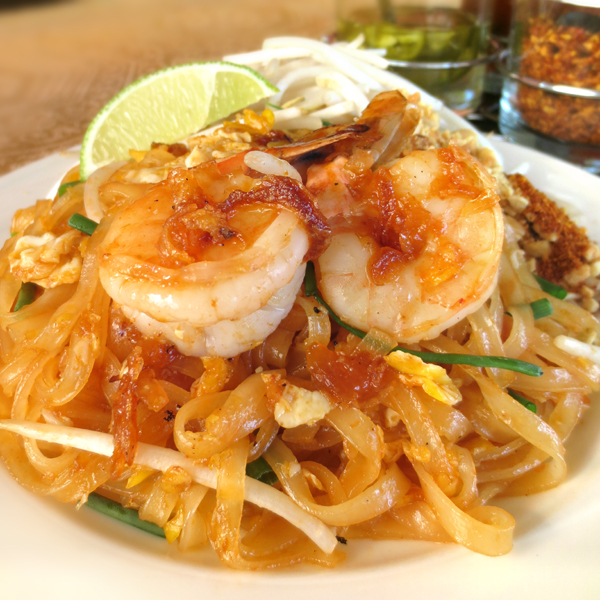 N1 Pad Thai with Shrimp