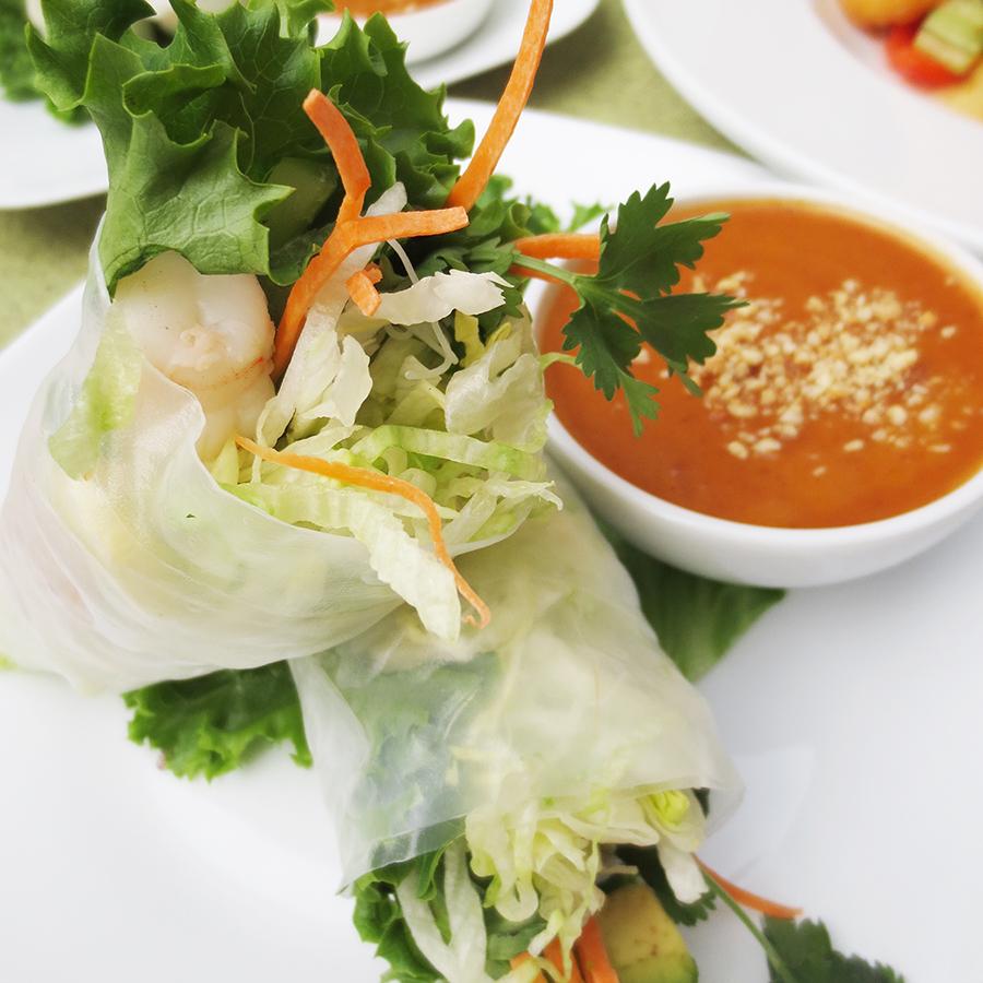 A3 Shrimp Avocado Fresh Rolls