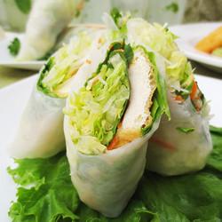 A2 Tofu Fresh Rolls