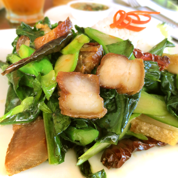 HS12 Rosted Pork with Chinese broc