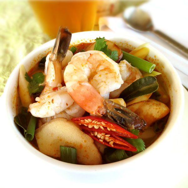 S1 Tom-Yum with Shrimp