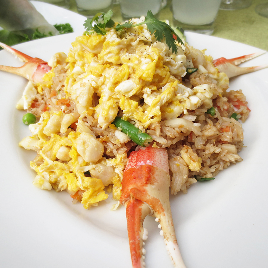 R6 Crab Fried Rice