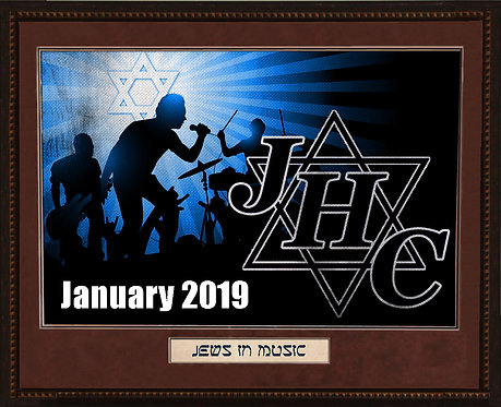 Jews In Music Autographed Artwork