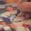 Thumbnail: Jewish Baseball Player Original Autographed Artwork