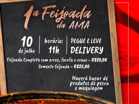 AMA realiza a 1º Feijoada Pegue e Leve e Delivery