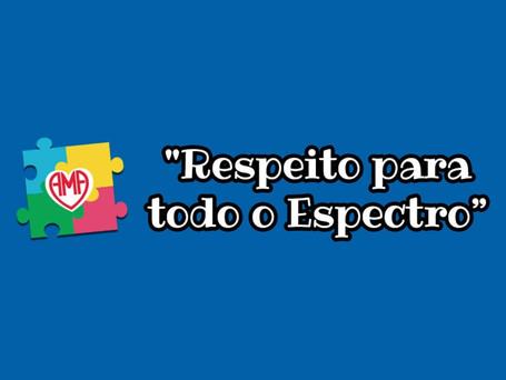 AMA realiza Live ''Respeito para todo o Espectro''