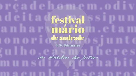 Festival Mário de Andrade | SPCine/TV Globo