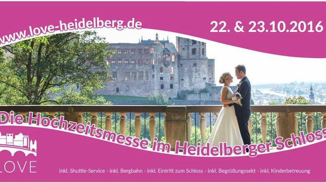 LOVE im Heidelberger Schloss