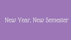 New year, new semester