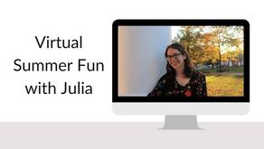 Virtual Summer Fun with Julia