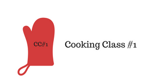 Touching my Allergens (Cooking Class #1)