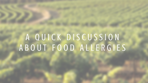A Quick Discussion about Food Allergies