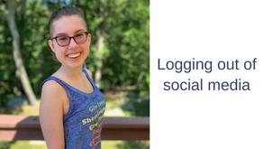 Logging out of social media