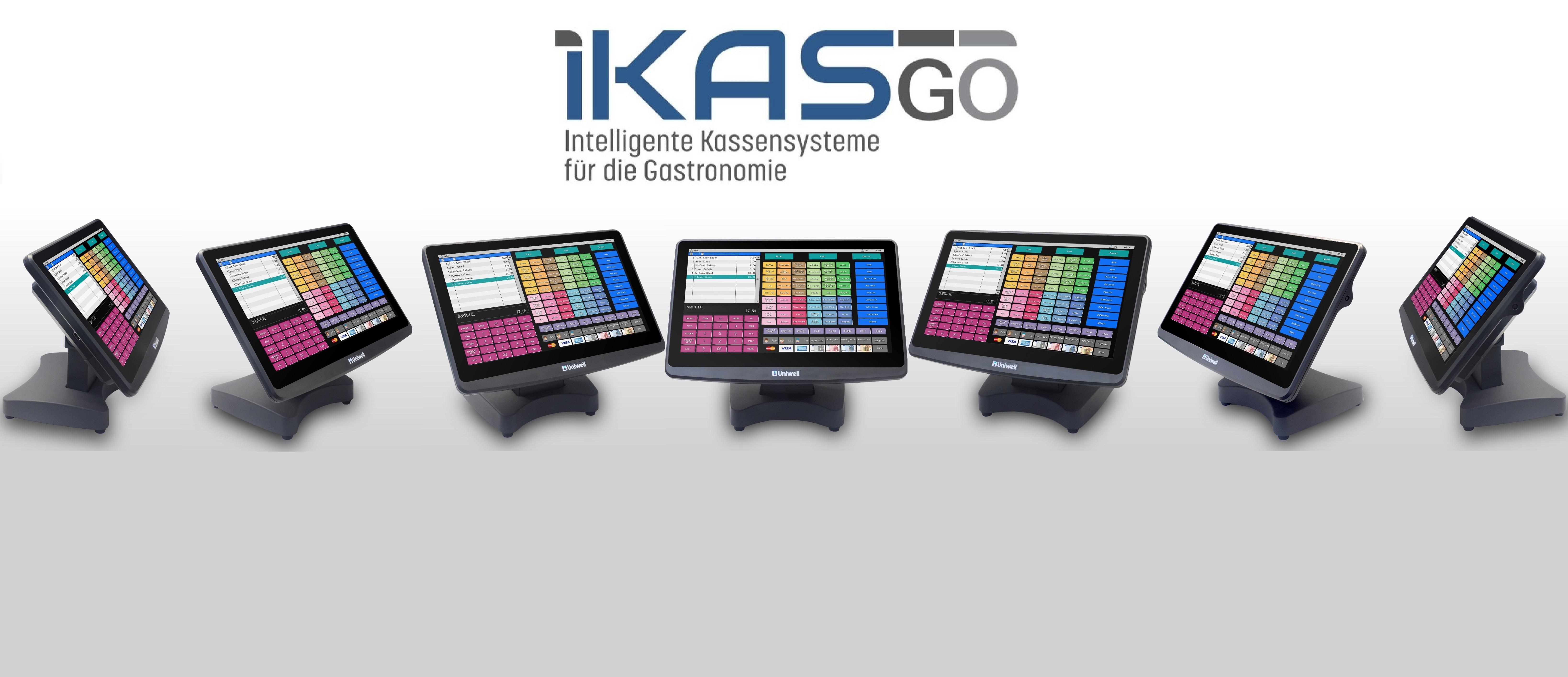 iKASgo Kassensysteme Gastronomie Restaurant Einzelhandel Registrierkassen Touchkassen Computerkassen