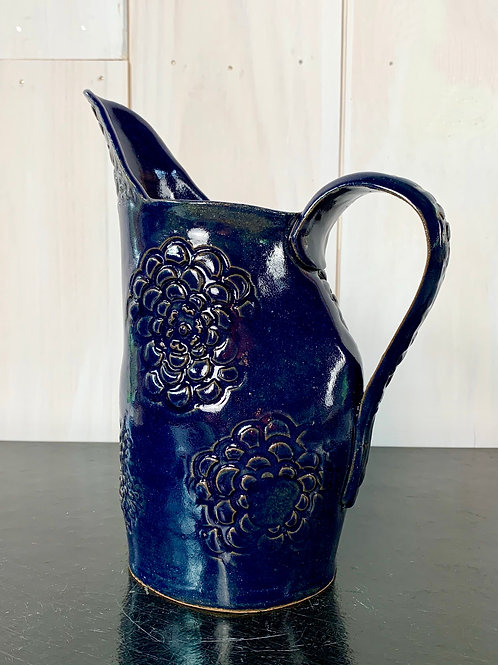 Pitcher - Cobalt blue.