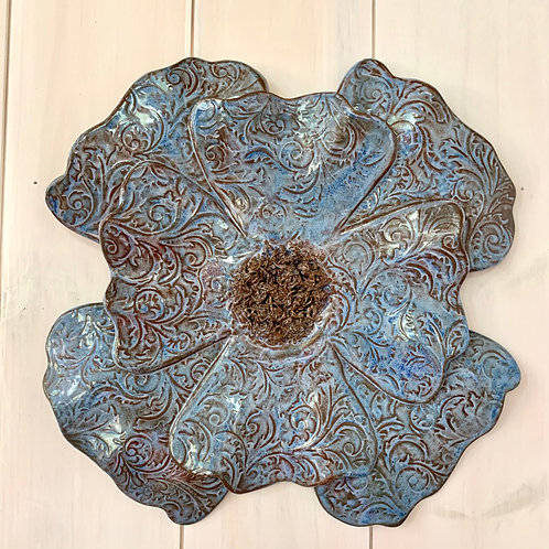 Wall piece - Flower power.