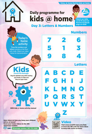 #3 Letters & Numbers