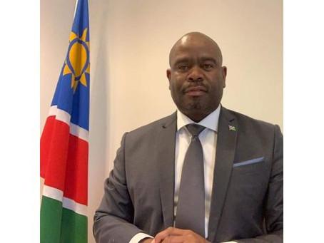 Namibias Botschafter hat COVID-19 besiegt