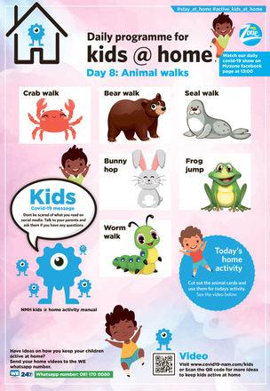 #8 Animal Walks