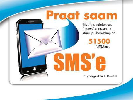SMS'e vir 1 April 2020