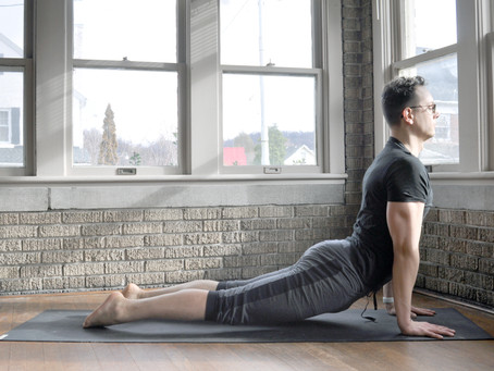 Three easy and beneficial yoga poses to do when sedentary at work (or working from home)