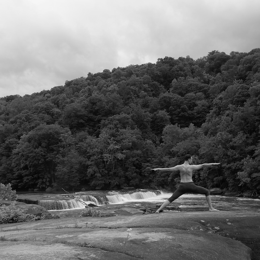Yoga at Valley Falls State Park