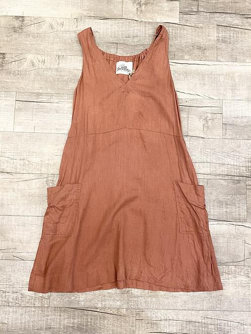 Sugar Candy Mountain Linen Dress