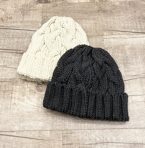 Hatattack Fisherman Cable Hat