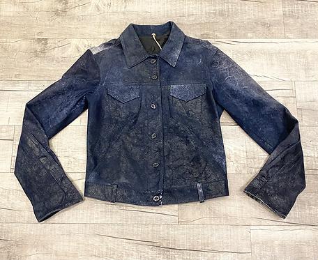 Christiansen Button Up Leather Jacket