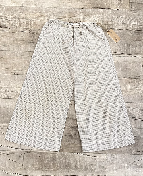 Erica Tanov Cotton Print Drawstring Pants