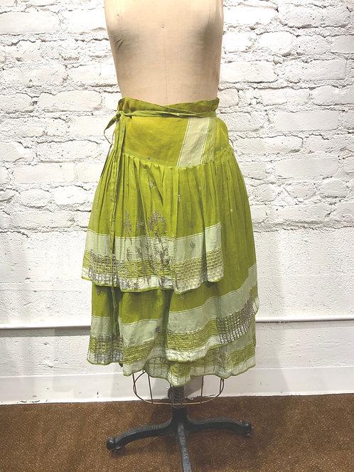 Dosa Beaded Wrap Skirt
