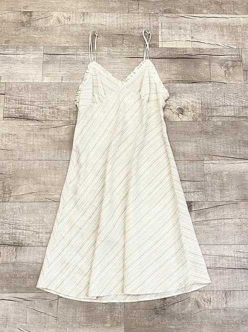 Erica Tanov Stripe Linen Dress