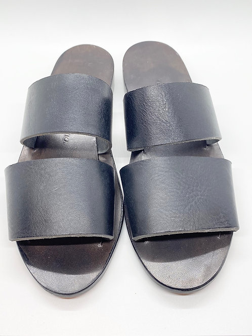Permanent Collection Leather Sandals