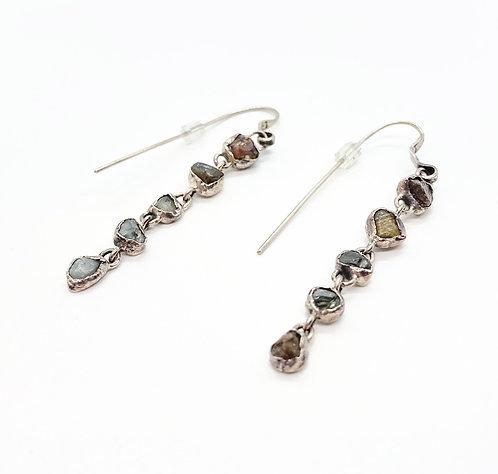 Lou Zeldis Agate Earrings