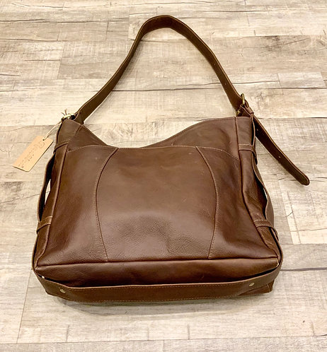 Erica Tanov Leather Satchel Purse