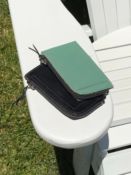 Dean Leather Zip Wallet