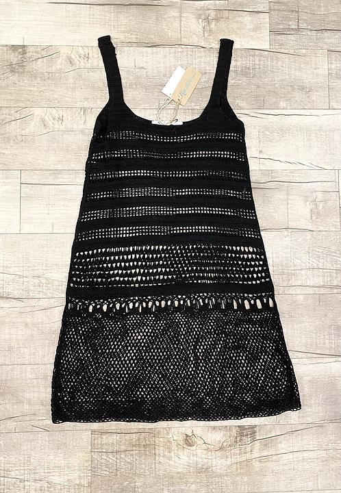 Erica Tanov Crochet Cotton Dress