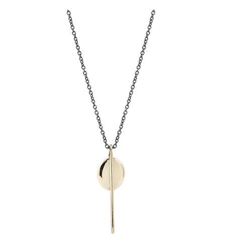 Erin Cuff Guardian Pendant Necklace