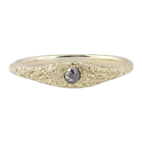 Erin Cuff Desert Solitaire Pepper Diamond Ring