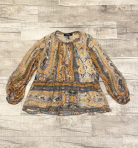 Isabel Marant Print Silk Blouse