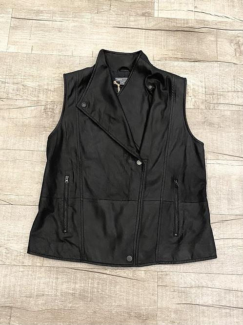 Vince Leather Vest